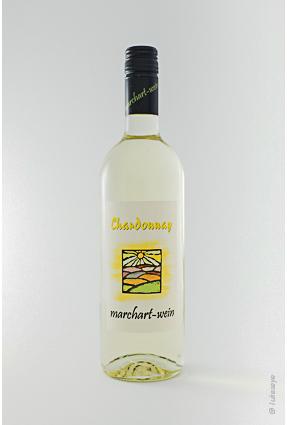 Flasche Chardonnay