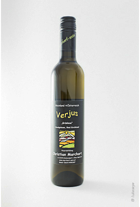 Flasche Verjus